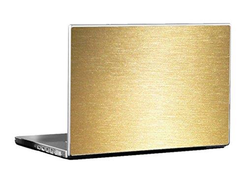 TUF-KOTE - Chrome Brushed Design | Laptop Skin Vinyl | Color : Gold