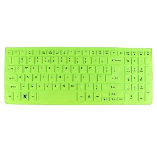 DealMux verde silicona teclado portátil protector