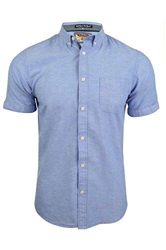 Tokyo Laundry Mens Plain Linen Mix Shirt by Wells'