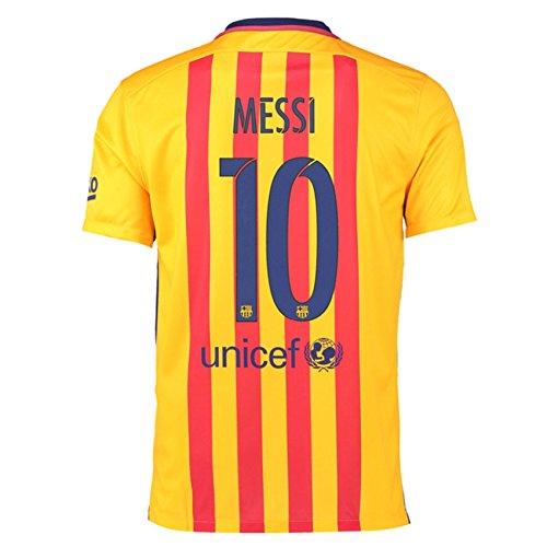 Trikot Nike FC Barcelona 2015-2016 Away - Messi [Junior 164] (Barcelona Trikot Nike Away)