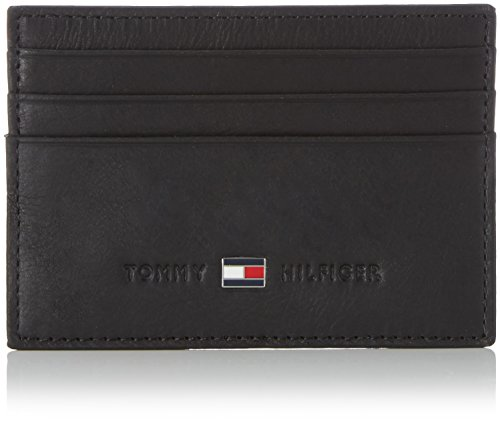 Tommy Hilfiger Johnson, Porte-Monnaie - Noir (002), Taille Unique