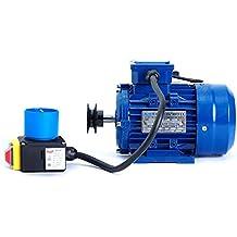 Motor de 0,75Kw / 1 CV monofásico 220V para hormigonera con polea y cable