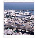 Photo Mug of Ferry terminal at Dover harbour, Kent, England, United Kingdom, Europe