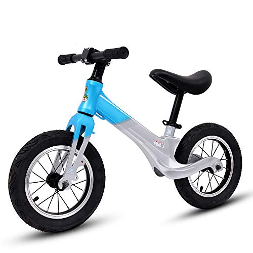 BABYZIXCH Balance Fahrrad FüR 2-6Jahre Alter Junge Und MäDchen,Laufrad Mit Verstellbarem Sitz Und GriffhöHe,Kein Pedal,Geeignet FüR HöHe 85-115Cm