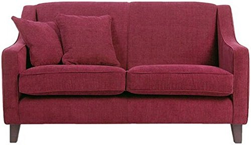 FabHomeDecor Alia Superb FHD222 Two Seater Sofa (Maroon)