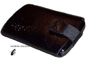 Original Bugatti SlimCase Leather Black für HTC Touch HD