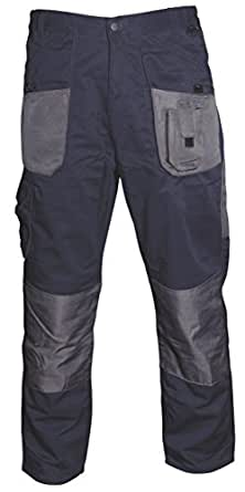 Blackrock Men's, normale Beinlänge, Handwerker, Marineblau/Grau, 30 cm