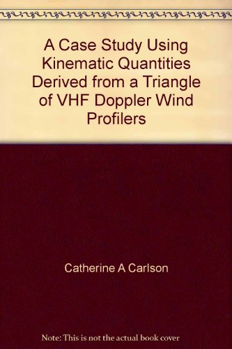 A Case Study Using Kinematic Quantities Derived from a Triangle of VHF Doppler Wind Profilers