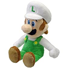 Nintendo 22cm Sanei Super Mario Bros Plush Fire Luigi