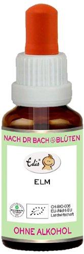 Sunasar Edis Elm alkoholfrei 15ml (Bio Bachblüten), 1er Pack (1 x 15 ml)