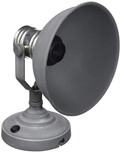 Preisvergleich Produktbild Brilliant 90111 / 70 Garderobenleiste mit Schalter,  Metall,  grau / weiß