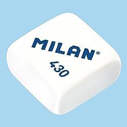 Caja 30x Goma de borrar MILAN modelo 430 Colores surtidos 73083-CS