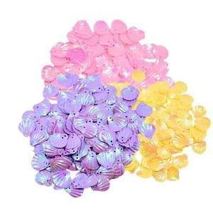 Alcoa Prime 3 Colors 15mm Shell Loose Sequins for Embroidery Applique Art Crafts Sewing