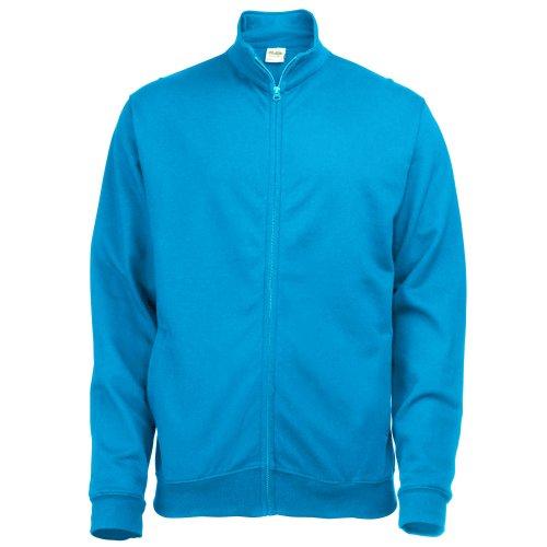 Just Hoods by AWDis Fresher Full Zip, Sweat-Shirt Femme Bleu - Sapphire Blue