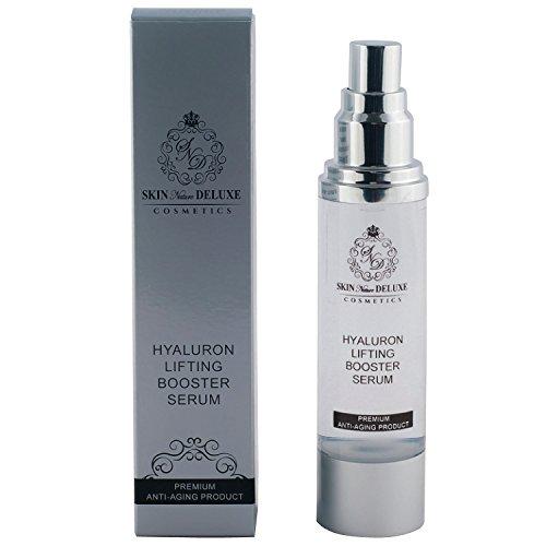 Hyaluronsäure Serum hochkonzentriert- 50ml- parfümfrei- niedermolekular- Dermaroller/Micro-Needling geeignet/Antifaltencreme für Männer/Frauen- Dekollete/Gesicht/Augen