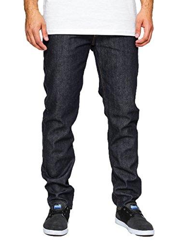 Vans Herren Straight Leg Jeanshose Blau Blau Gr. 30W/34L, Blau - Raw Indigo