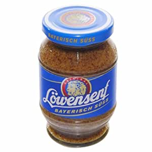 German Löwensenf Mustard Bavarian sweet - 1 x 250 ml