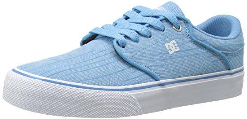 DC Mikey Taylor Vulc TX SE Low Top Chaussures Femmes Bleu Heritage