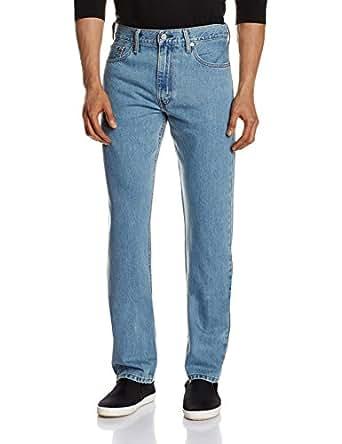 Levi's Men's 513 Slim Fit Jeans (6901778184166_23677-0010_30W x 34L_Blue)