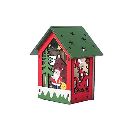 Kostüm Mann Und Spider 1 Unterschiede 2 - Mitlfuny Festival dekor,Christmas,Halloween,Weihnachtsdekoration,Halloween deko,Halloween kostüm,LED-Licht-Holzhaus-Nette Weihnachtsbaum-hängende Verzierungs-Feiertags-Dekoration