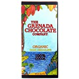Grenada Chocolate Company 100% dark chocolate bar 85g