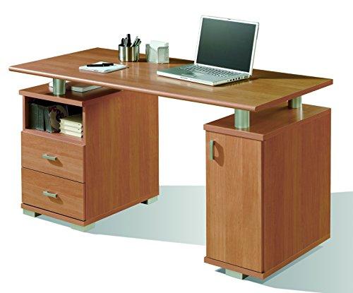 Abitti Mesa Escritorio despacho u Oficina Color Cerezo