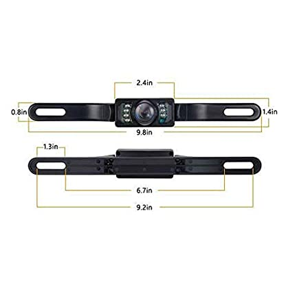 Calistouk-Rckfahrkamera-109-cm-43-Zoll-Monitor-kabellos