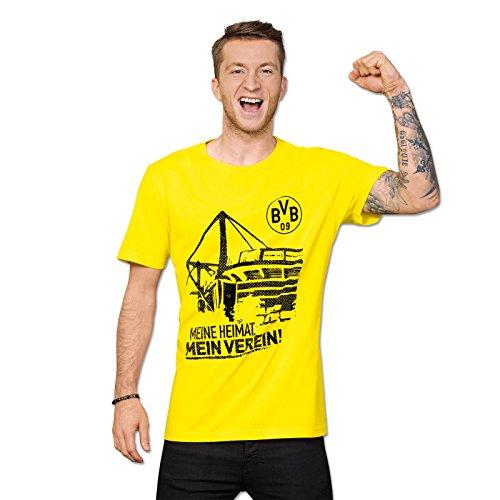 Borussia Dortmund–Camiseta (Tallas S–3x l, Small