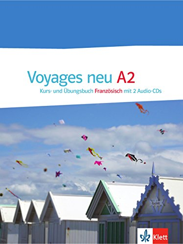 Voyages neu A2: Kurs- und Übungsbuch mit 2 Audio-CDs