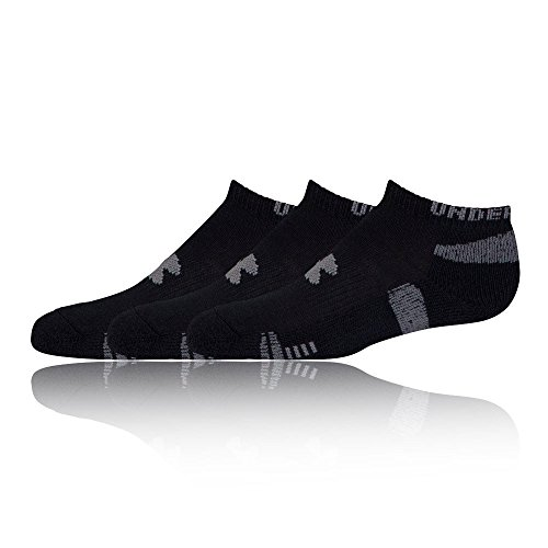 Under-Armour-Mens-Ua-Heatgear-No-Show-Socks-Pack-of-3