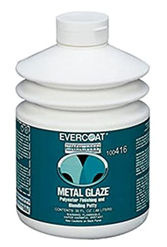 Fibreglass Evercoat 416 Metal Glaze Polyester Finishing and Blending Putty - 30 Oz. Pump by