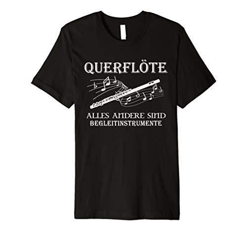 Musik querflöte t-shirt herren, damen, kinder lustig sprüche