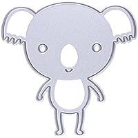 enipate vivace Koala design Fustelle in metallo