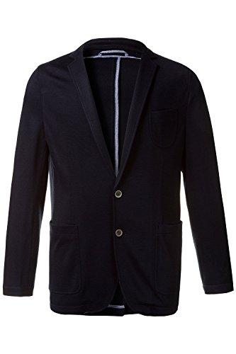 JP 1880 Herren große Größen bis Größe 68 | Sakko in blau| Jersey-Blazer in Reversform |3 Taschen, 2 Knöpfe & Ohne Futter | Regular Fit | navy 60 708341 70-60 (3-knopf-klassisches Anzug)