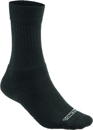 Meindl Damen und Herren Comfort fit Socken schwarz, Größe:36-39 (S)