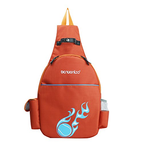 BROADCOM Leichte Wanderrucksack, Natuce Multifunktionale Wasserdicht für Outdoor-Sport Unisex Rucksack Pro Training Backpack Orange