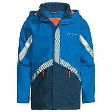 Vaude Luminum II Rain Jacket Kids Rain Jacket - radiate blue, 122/128