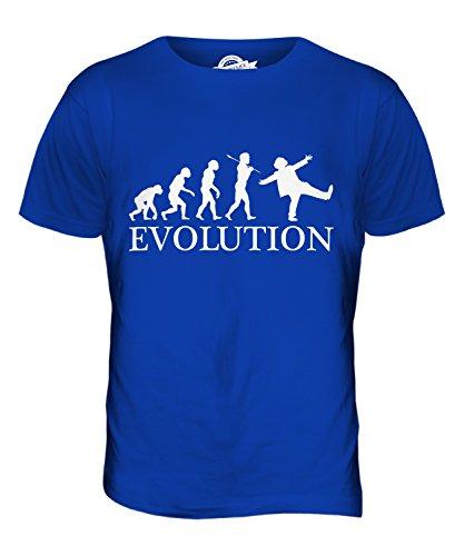 CandyMix Clown Evolution Des Menschen Herren T Shirt Königsblau