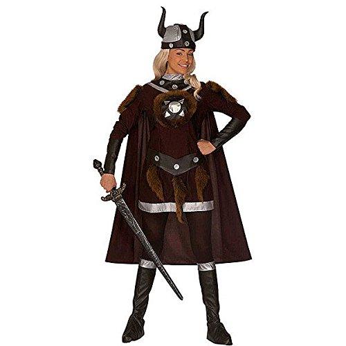 Widmann 44511, Damenkostüm - Wikinger-Kostüm