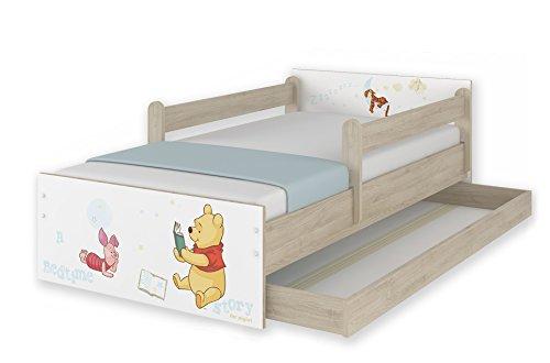 *Original Disney's Kinderbett mit Rausfallschutz und Matratze viele Designs*