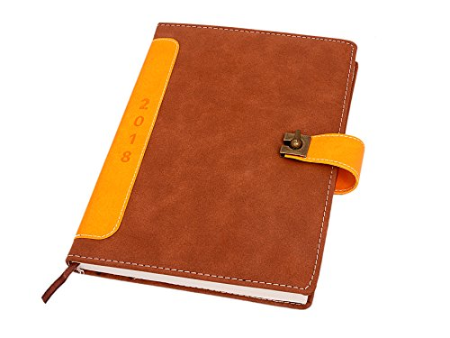Aone India Diary 2018 Nescafe PU Series with Flap in lock  available at amazon for Rs.998