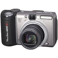 Canon Powershot A650 IS Digitalkamera (12,1 Megapixel, 6x optischer Zoom, dreh-und schwenkbares 2,5-Zoll Display)