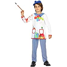 Atosa 22151–Pintor, niño Disfraz, tamaño 128