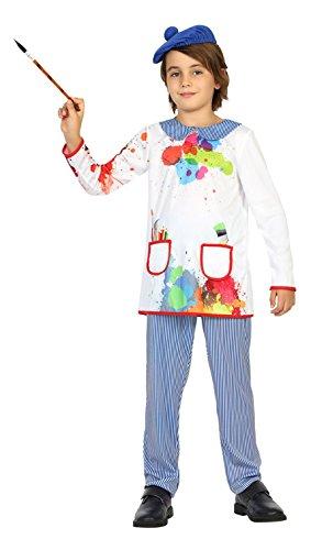 Atosa - Disfraz Pintor, 7 a 9 años (22151)