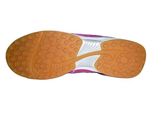 AGLA Professional Condor Light Outdoor Chaussures Futsal Futsal avec anti-chocs Fuchsia