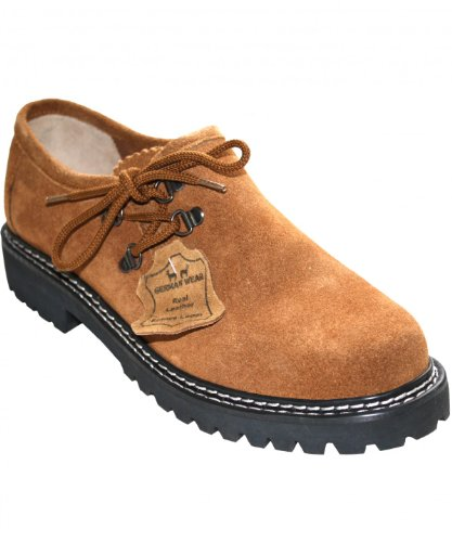 Trachtenschuhe Haferlschuhe für Trachten lederhosen, Schuhgröße:41