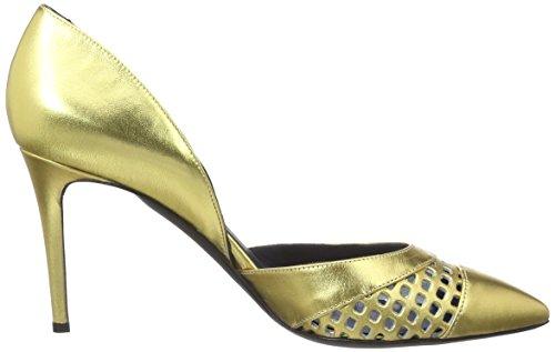 Pollini Shoes, Scarpe col tacco Donna Oro (Gold 901)