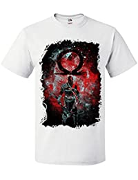 Palalula Hombre Kratos God of War Draw Camiseta t Shirt Tribute T-Shirt ToNS28Md