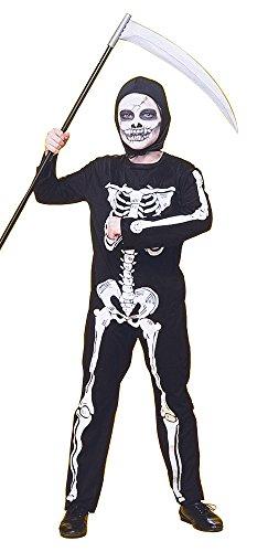 Haunted House - Disfraz infantil de esqueleto, talla M (Rubie's 12507-M)