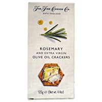The Fine Cheese Crackers with Rosemary and Extra Virgin Olive Oil, 125 GMS